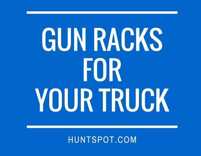 gun rack for trucks