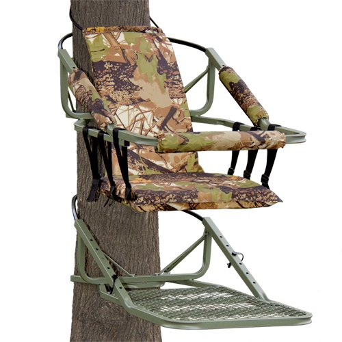 Best Choice Products Hunting Deer Bow Game Hunt Portable Tree Stand Climber W/Harness