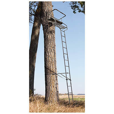 Sniper Deluxe 2-man Ladder Tree Stand 18'