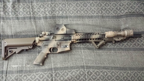 Spray Paint Ar Lower