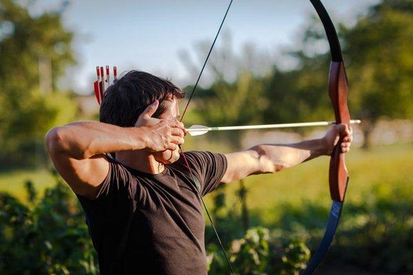 preseason archery practice