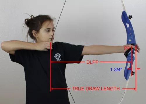 archery draw length