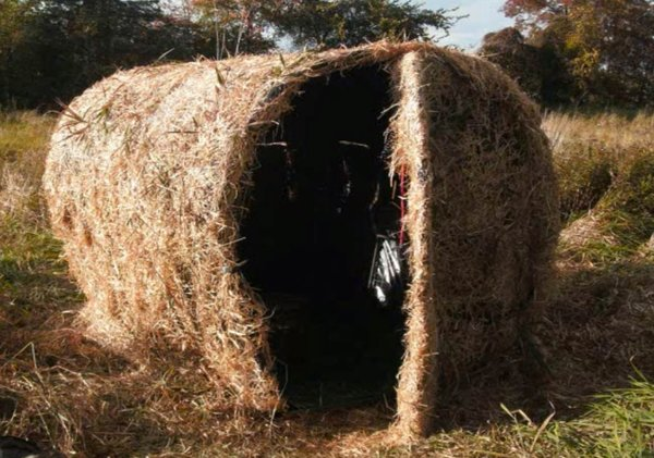 Diy Homemade Ground Blinds For Bow Hunting